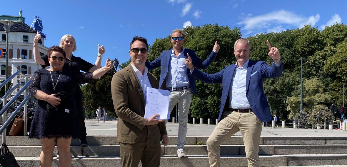 Nettalliansen signerer storavtale